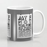 Eye Test - JAY Z Mug