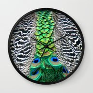 Nature's Pattern Wall Clock