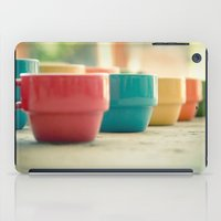 Rainbow Mugs iPad Case