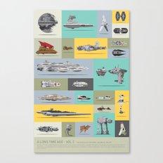 A Long Time Ago - Vol 3 Canvas Print