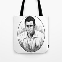 DARK COMEDIANS: Adam Sandler Tote Bag