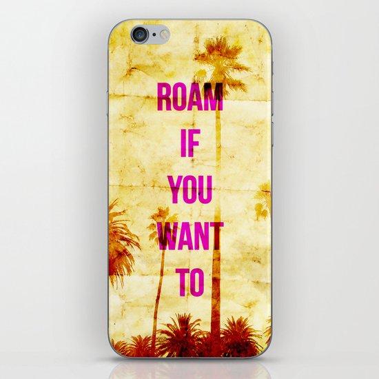 Roam iPhone & iPod Skin