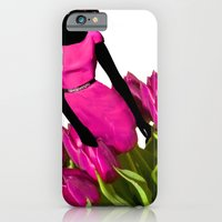 iPhone & iPod Case featuring Fucshia Tulip by Hahn Pampas