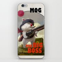 Retro Big Boss Promo  iPhone & iPod Skin
