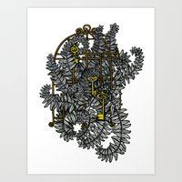 Jailed Fern Art Print