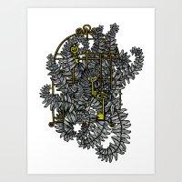 Jailed fern Art Print