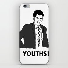 Youths! iPhone & iPod Skin