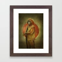 Master O. Framed Art Print