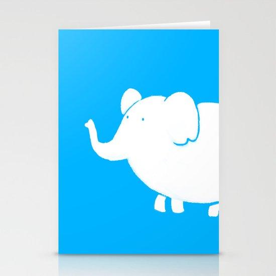 White Elephant  Stationery Card