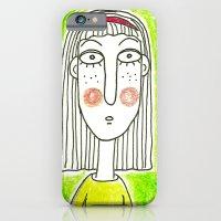 Green Girl iPhone 6 Slim Case