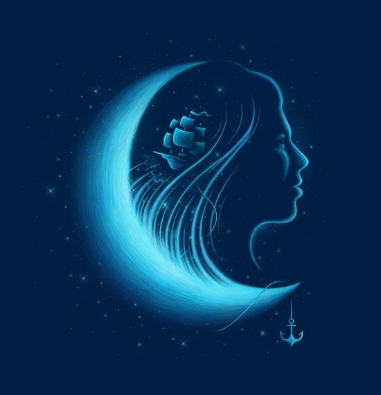 Moonlight Grace Canvas Print