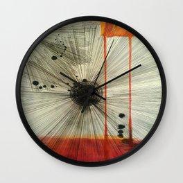 Wall Clock - Black Hole Sun - Ducky B