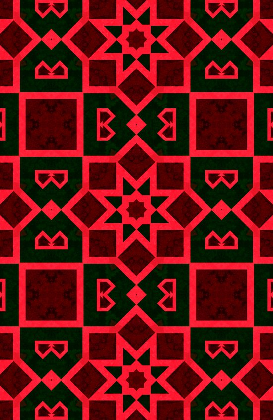Mysterious Grid Patterns  Art Print
