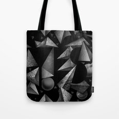 Not So Negative Space Tote Bag
