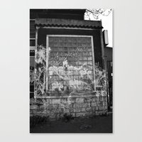 Fit Of Anger   Canvas Print