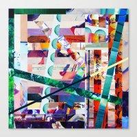 Antonsen (stripes 20) Canvas Print