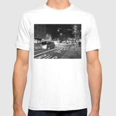 Geneva Mens Fitted Tee White SMALL