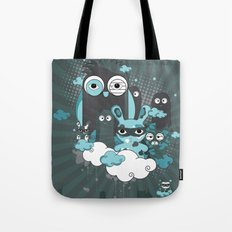 Nocturnal Friends Tote Bag