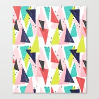 Paper Play Canvas Print