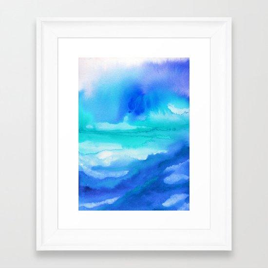 Rise II Framed Art Print