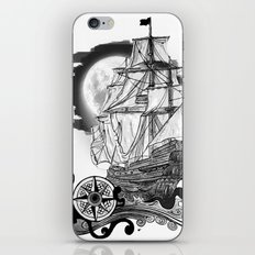 The sea route to the moon iPhone & iPod Skin