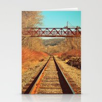 On The Right Track Stationery Cards