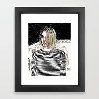 I'm Not Like Them, But I… Framed Art Print