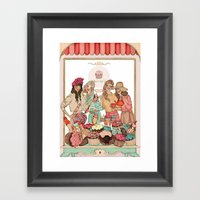Sweet Temptation Framed Art Print