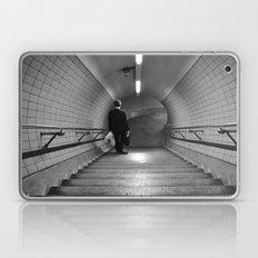 Empty London Underground stairs Laptop & iPad Skin