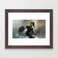 Legend Of Zelda 25th Ann… Framed Art Print