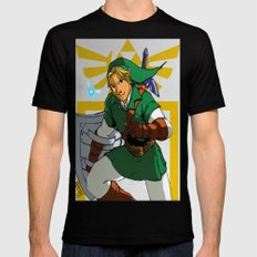 The Legend of Zelda: Link Black SMALL Mens Fitted Tee