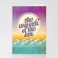 The Warmth Of The Sun Stationery Cards