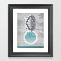 Inner Cataclysm Framed Art Print