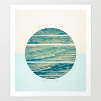 You're the water to my sea Art Print