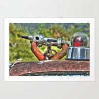 Fire Nozzle Art Print