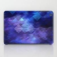 Anemone Wave Pixel iPad Case
