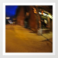 Night photography Art Print