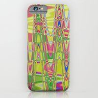 Playing with waves 4 iPhone 6 Slim Case