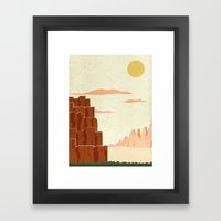 Day Framed Art Print
