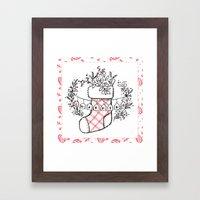 Holiday Joy: Warmth Framed Art Print