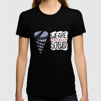 screwed Womens Fitted Tee Black SMALL