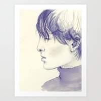 Androgynous  Art Print