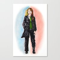 2 OLIVIAS DUNHAM (FRINGE) Canvas Print