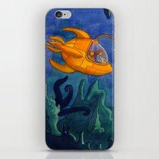 Deep Sea Adventure iPhone & iPod Skin