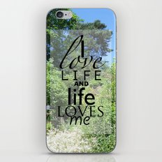 Life is just iPhone & iPod Skin