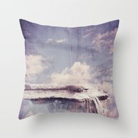 Sky River  Throw Pillow