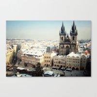 Prague, Czech Republic C… Canvas Print