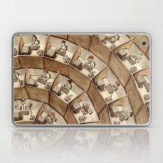 The Rings of Cubicle Hell Laptop & iPad Skin
