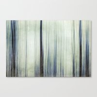 woodland blues Canvas Print
