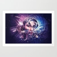 Mothership Art Print